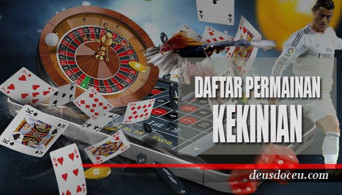 Selain Poker ini Permainan Judi Masa Kini